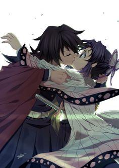 Giyu x Shinobu - Best of Wallpapers for Andriod and ios Demon Slayer, Slayer Anime, Anime Angel, Anime Demon, Loli Kawaii, Kawaii Anime, Otaku Anime, Anime Art, Demon Hunter