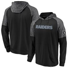 1e527c98d Oakland Raiders NFL Pro Line by Fanatics Branded Made to Move Pullover  Hoodie – Black