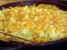 The Lady's Cheesy Mac recipe from Paula Deen via Food Network