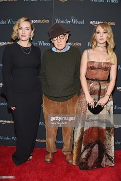 News Photo : Kate Winslet, Woody Allen and Juno Temple attend. Juno Temple, Soft Gamine, Woody Allen, Kate Winslet, Peplum Dress, Celebs, Pictures, Photos, News
