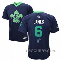 LeBron James 2014 NBA All-Star East  6 Green Jersey 68ca6fd21