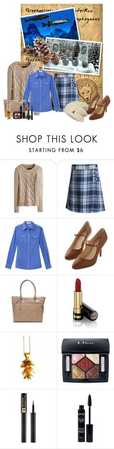 """""""9/29 Birthday Set: ND Inspired"""" by stephaniefb ❤ liked on Polyvore featuring Joules, Lands' End, Tory Burch, Armani Jeans, Gucci, Justine Brooks, Christian Dior, Lancôme, NYX and ONLY"""