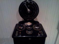 Consola de aparato de Radiografía de 1906