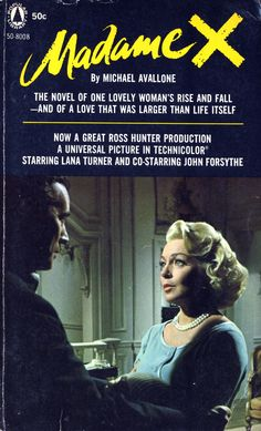 Madame X (1966) - Overview - TCM.com Lana Turner is great - yes it's corny but it made me cry..