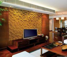 Personnalisez votre salon avec le meuble tv industriel - Panneau decoratif mural ...