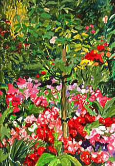 Jo Reitze - Paints Your Garden - Welcome