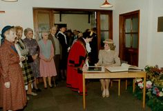 11 March 1986 Princess Diana opened St Mary's day centre for the elderly in…