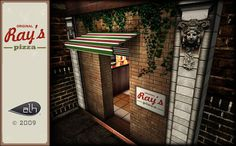 6c00c06e6 Second Life Marketplace - RAY S PIZZA PARLOR boxed Ray s Pizza