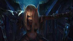 Vídeo Game World Of Warcraft  Blood Elf Papel de Parede