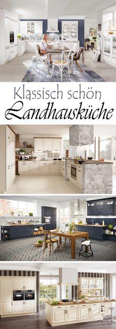 Landhausküchen aus Holz Bilder  Ideen für rustikale Küchen im - inspirationen küchen im landhausstil