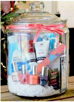 Gift in a jar- beauty set