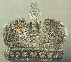 theimperialcourt: The Crown of the Empress of Russia