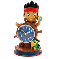 Disney Jake and the Never Land Pirates Clock ** Want to know more, click on the image.Note:It is affiliate link to Amazon.