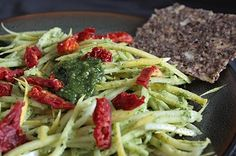 I'll take some of that...: Pumpkin Seed Pesto (Alkaline, GF, Raw, Vegan)