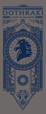 Dothraki Banner by olipop #got #agot #asoiaf