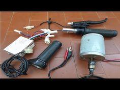 Inversor controlador da bike elétrica, como ligar,modo muito facil, idei... Hair Dryer, Electric Push Bike, Ideas, Dryer