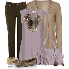 Lilac Brown Contest 3, created by amybwebb on Polyvore