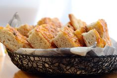 Try out this classic bite-sized #cheese bread #appetizer that is sure to please at any occasion.