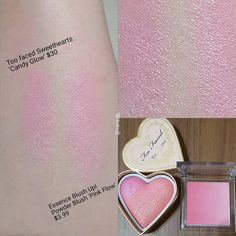 I am loving that Essence Blush!It reminded me so much of the Too Faced…