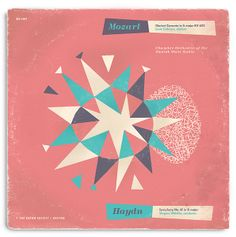 Fictitious Mozart/Haydn Record Cover by Javier Garcia by Javier Garcia Design, via Flickr