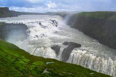 #Gullfoss, der ´goldene Wasserfall´, #Island