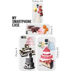 """Life's necessities - cake"" by maria-kuroshchepova on Polyvore"