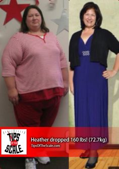 """I learned so much about myself. I learned… that I deserve to put myself first.""  Heather once believed #weightloss was impossible for her, but she made her own possibilities and dropped over 160 pounds. -> http://scale.fm/77pn"