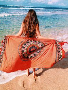 printed sarong