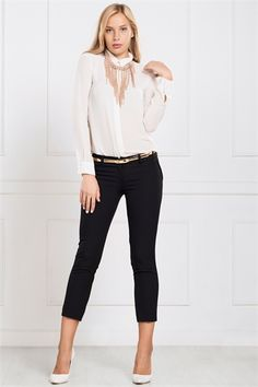 Kathryn Pants in Black Capri Pants, Black, Style, Fashion, Swag, Moda, Capri Trousers, Black People, Fashion Styles