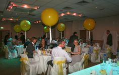 Happiness is..... giant yellow balloons! Photo by www.CaughtInTheMomentPhotography.co.uk