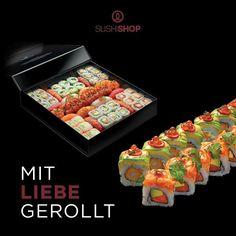 Für alle, die den Tag der Liebe in trauter Zweisamkeit verbringen möchten: Einfach ein leckeres, elegantes Sushi-Dinner für Zwei nach Hause liefern lassen und den Abend  <3   Das ganze, liebevoll zubereitete Menü findet ihr unter www.mysushishop.de/de/livraison-kollektion-2016 Eurer Wunsch-Menü kann auch telefonisch vorbestellt werden.  #SushiShopValentinesWeek #SushiShopNeueKarte