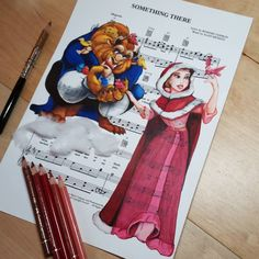 Something There [feat. Belle & Adam as the Beast] (Music by DoughtyCreARTive @Instagram) #BeautyAndTheBeast