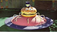 The mayor merry go round.  McDonald's in the day.