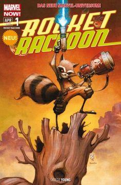 Rocket Raccoon #1 2/5 Sterne