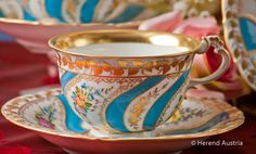 Colette - Tea Cup and Saucer | Herend Austria