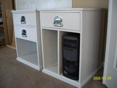ana white build your own office narrow file drawer base unit diy projects ana white completed eco office desk