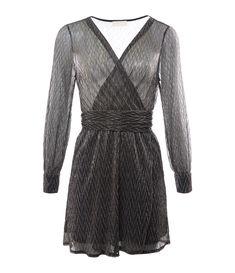 34 Ghost Londres Haut Femmes Taille XS noir et blanc 100/% viscose
