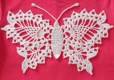 Ravelry: Delicate Crochet Butterfly by Anne Halliday