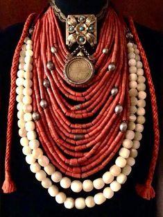 Ukrainian ethnic jewelry