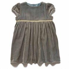 dove grey betty baby dress