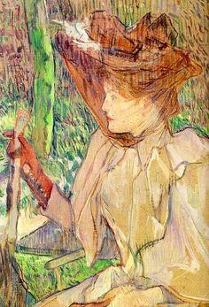 ART & ARTISTS: Toulouse-Lautrec