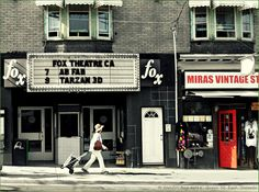 Fox Theatre the longest running cinema in Canada. by Toro500px