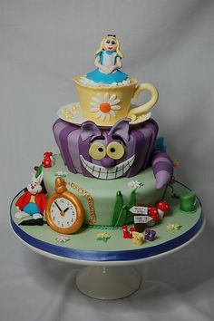 Alice in Wonderland Cake. Please check out my website thanks. www.photopix.co.nz