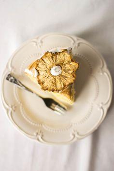 ... triple layer lemon meringue cake ...