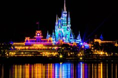 Magic Kingdom ~ Magic at Disney continues even at night!