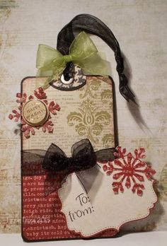 Christmas Tag 1 2013 by HamiltonGal - Cards and Paper Crafts at Splitcoaststampers