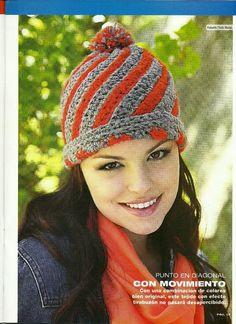 Hats Crochet Patterns Part 11 - Beautiful Crochet Patterns and Knitting Patterns Hand Knitting, Knitting Patterns, Crochet Patterns, Sombrero A Crochet, Crochet Flats, Bonnet Crochet, Headband Pattern, Head And Neck, Filet Crochet