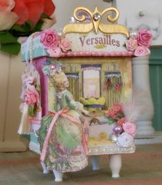 Decorative Box Marie Antoinette Jewellery by BlushingPeach on Etsy, $40.00