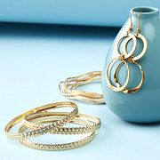 Take a look at the Gold Tones: Women's Jewelry event on #zulily today!