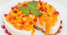 Raw Vegan Persimmon Cheesecake